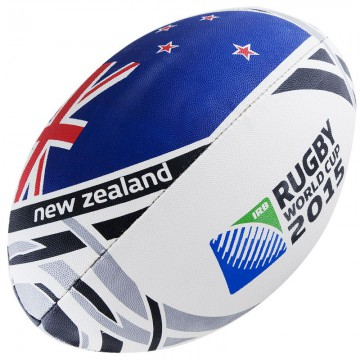 Мяч для регби Gilbert  RWC2015 New Zealand Flag